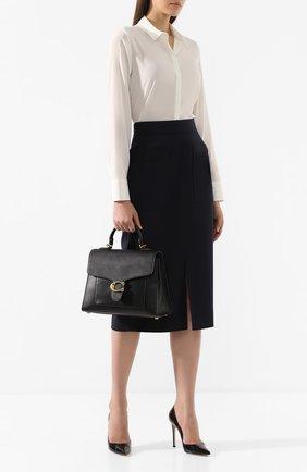 Женская сумка tabby COACH черного цвета, арт. 78342 | Фото 2