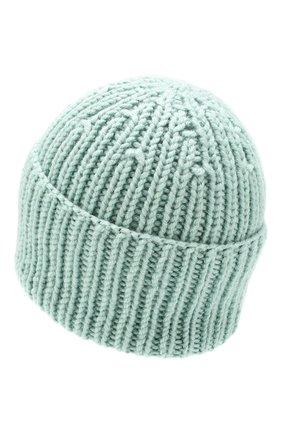 Женский шерстяная шапка A.T.T. бирюзового цвета, арт. 1560/56 | Фото 2