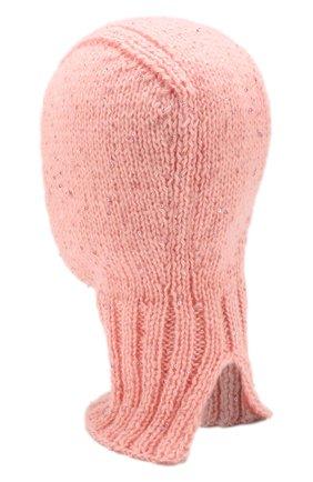 Шерстяная шапка-балаклава   Фото №2