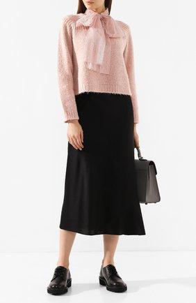 Женская свитер REDVALENTINO светло-розового цвета, арт. SR0KCB63/4LW | Фото 2