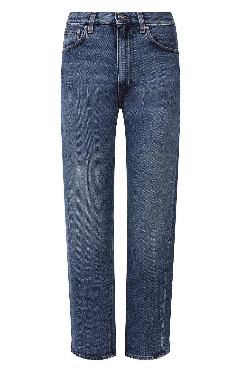 Женские джинсы TOTÊME синего цвета, арт. 0RIGINAL DENIM 32 193-232-740 | Фото 1