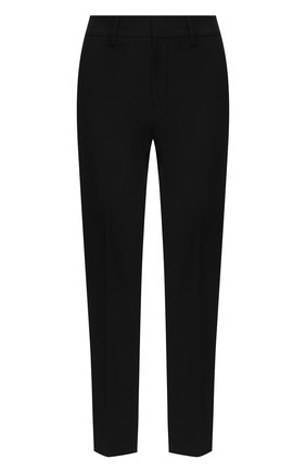 Женские брюки из смеси вискозы и шерсти REDVALENTINO черного цвета, арт. SR0RBB40/4JJ | Фото 1