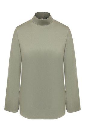 Женская блузка из вискозы THEORY зеленого цвета, арт. J0906501 | Фото 1