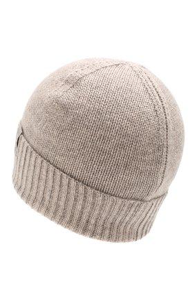 Мужская кашемировая шапка FTC бежевого цвета, арт. 768-0290 | Фото 2