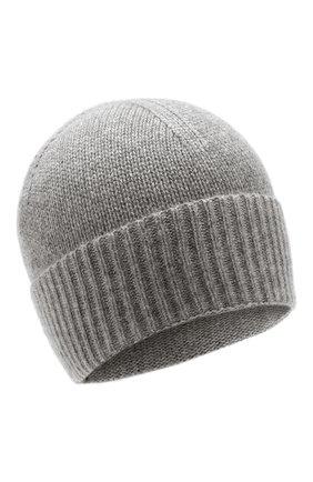 Мужская кашемировая шапка FTC серого цвета, арт. 768-0290 | Фото 1