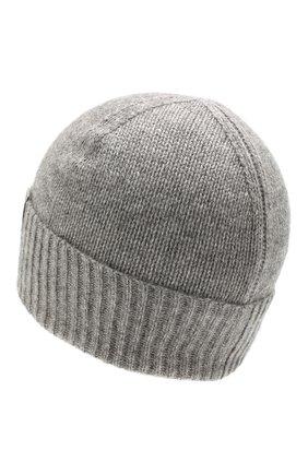 Мужская кашемировая шапка FTC серого цвета, арт. 768-0290 | Фото 2