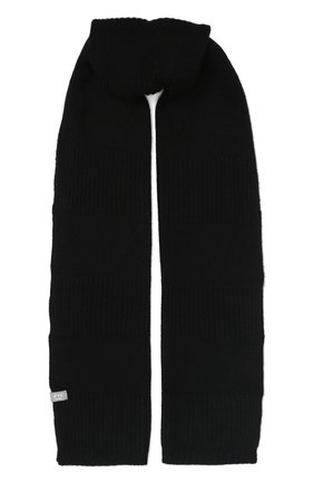 Мужской кашемировый шарф FTC черного цвета, арт. 768-0280 | Фото 1