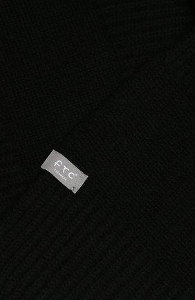 Мужской кашемировый шарф FTC черного цвета, арт. 768-0280 | Фото 2