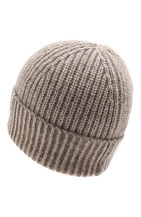 Мужская кашемировая шапка FTC светло-коричневого цвета, арт. 768-0240 | Фото 2