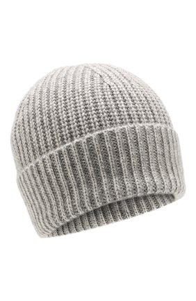 Мужская кашемировая шапка FTC серого цвета, арт. 768-0240 | Фото 1