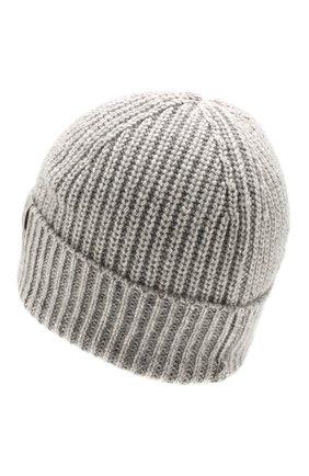 Мужская кашемировая шапка FTC серого цвета, арт. 768-0240 | Фото 2