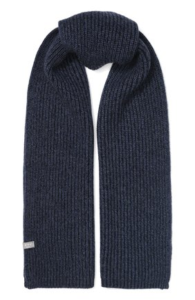 Мужской кашемировый шарф FTC темно-синего цвета, арт. 768-0230 | Фото 1