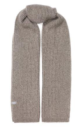 Мужской кашемировый шарф FTC светло-коричневого цвета, арт. 768-0230 | Фото 1