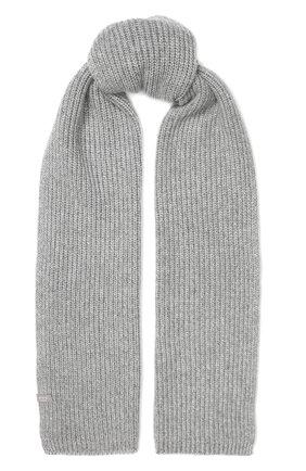 Мужской кашемировый шарф FTC серого цвета, арт. 768-0230 | Фото 1