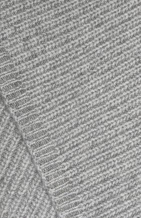 Мужской кашемировый шарф FTC серого цвета, арт. 768-0230 | Фото 2