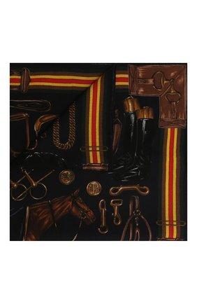 Мужской шерстяной шарф RALPH LAUREN синего цвета, арт. 791773367 | Фото 1
