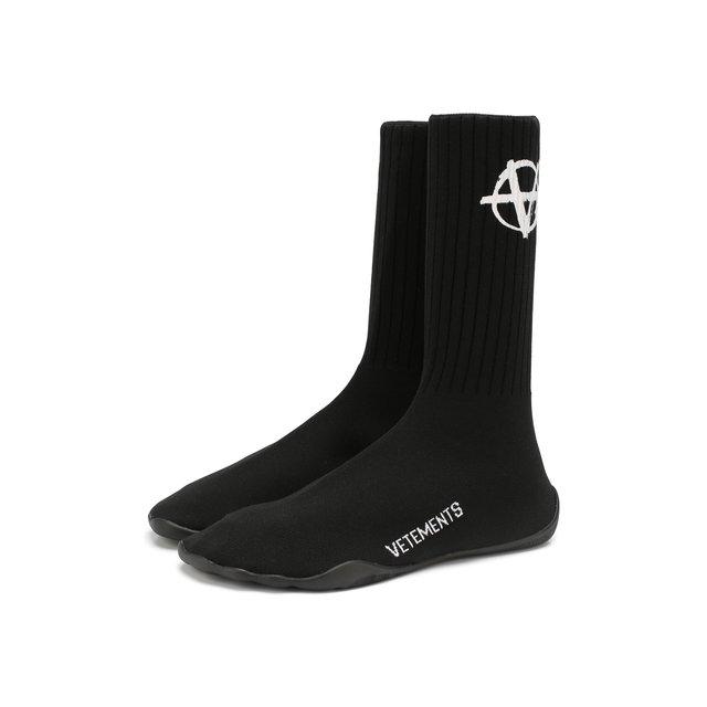 Текстильные кроссовки Vetements — Текстильные кроссовки