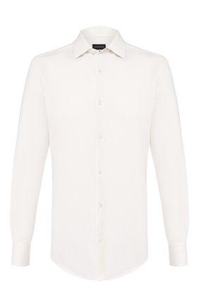 Рубашка из смеси хлопка и кашемира | Фото №1