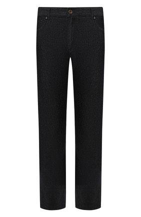 Мужские джинсы PAUL&SHARK темно-синего цвета, арт. I19P4209 | Фото 1
