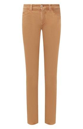 Мужские джинсы LORO PIANA бежевого цвета, арт. FAG4511 | Фото 1