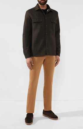 Мужские джинсы LORO PIANA бежевого цвета, арт. FAG4511 | Фото 2