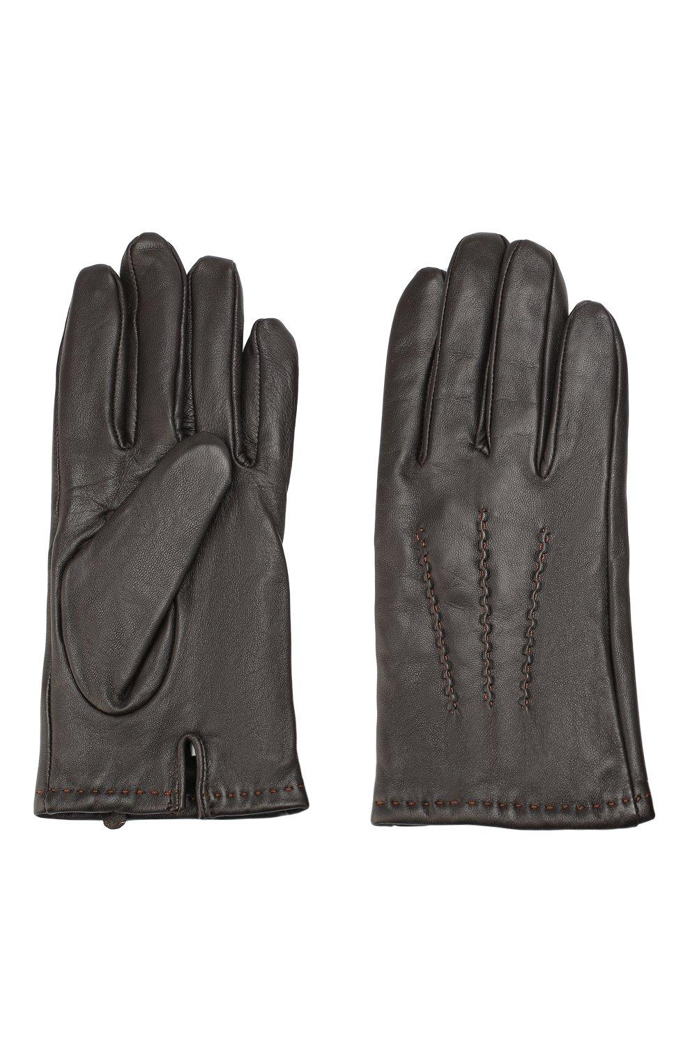 Кожаные перчатки   Фото №2