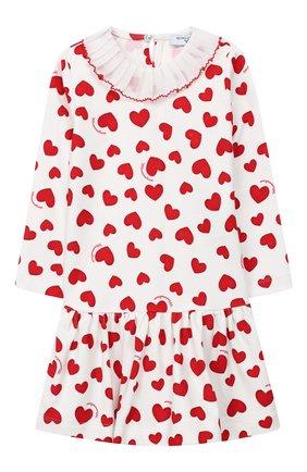 Женский платье MONNALISA красного цвета, арт. 314917 | Фото 1
