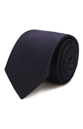 Детский шелковый галстук GUCCI синего цвета, арт. 575099/4K734 | Фото 1