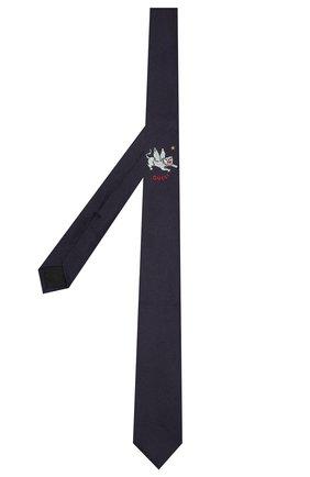 Детский шелковый галстук GUCCI синего цвета, арт. 575099/4K734 | Фото 2