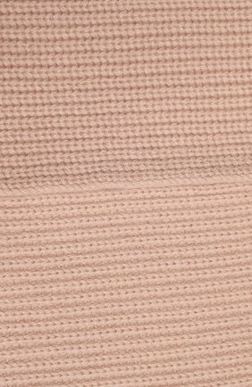 Кашемировый шарф с меховой отделкой | Фото №2