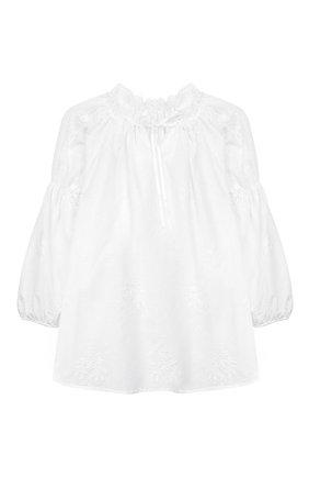 Детская хлопковая пижама AMIKI CHILDREN белого цвета, арт. J0SEPHINA | Фото 2