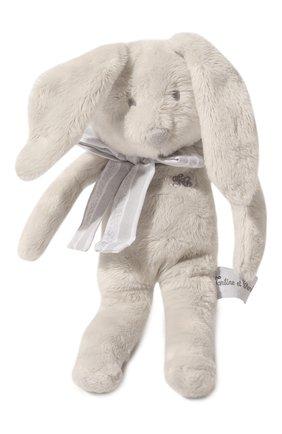 Детского игрушка кролик TARTINE ET CHOCOLAT серого цвета, арт. T30935H | Фото 1