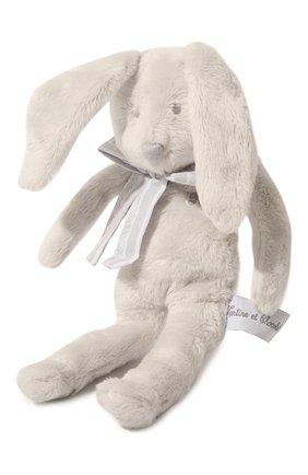 Детского игрушка кролик TARTINE ET CHOCOLAT серого цвета, арт. T30935H | Фото 2