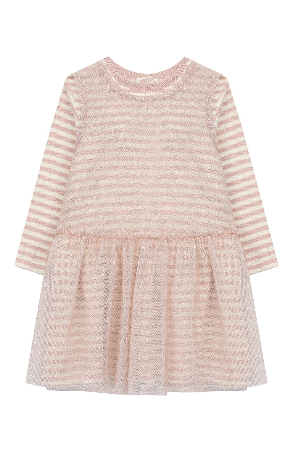 Женский хлопковое платье ALETTA розового цвета, арт. RW999232M/1M-2A | Фото 1