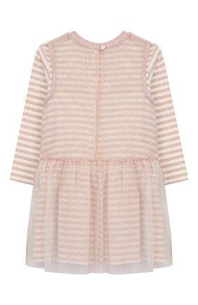 Женский хлопковое платье ALETTA розового цвета, арт. RW999232M/1M-2A | Фото 2