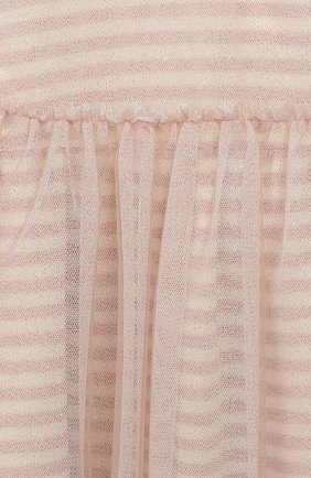 Женский хлопковое платье ALETTA розового цвета, арт. RW999232M/1M-2A | Фото 3