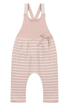 Детский хлопковый комбинезон ALETTA розового цвета, арт. RW999243/1M-2A | Фото 1