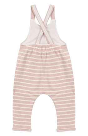 Детский хлопковый комбинезон ALETTA розового цвета, арт. RW999243/1M-2A | Фото 2