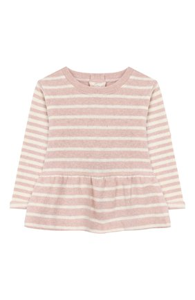 Детский хлопковый пуловер ALETTA розового цвета, арт. RW999248/1M-2A | Фото 1
