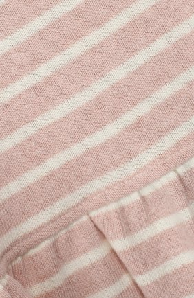 Детский хлопковый пуловер ALETTA розового цвета, арт. RW999248/1M-2A | Фото 3