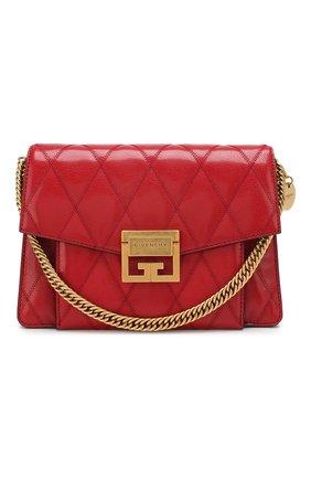 Женская сумка gv3 small  GIVENCHY красного цвета, арт. BB501CB08Z | Фото 1