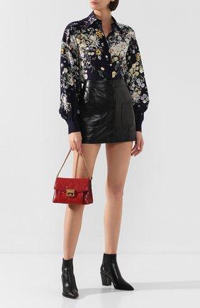 Женская сумка gv3 small  GIVENCHY красного цвета, арт. BB501CB08Z | Фото 2