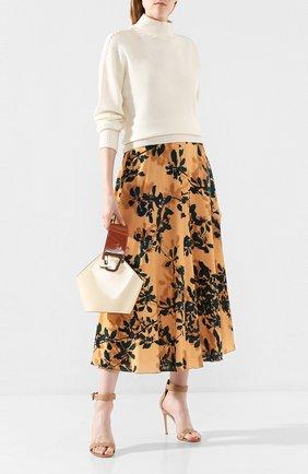 Женская сумка johnny mini DANSE LENTE кремвого цвета, арт. MINI J0HNNY/D0VE/R0SEW00D | Фото 2