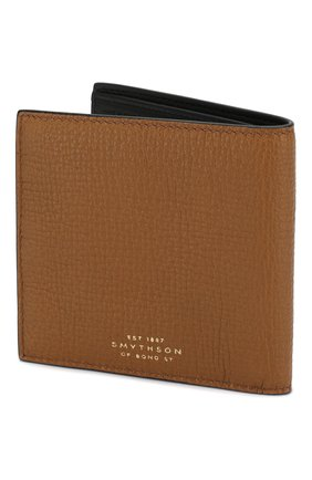 Женские кожаное портмоне SMYTHSON коричневого цвета, арт. 1024646   Фото 2