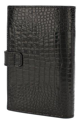 Женские кожаный кошелек gv3 GIVENCHY черного цвета, арт. BB601GB0LK | Фото 2
