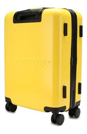 Женский дорожный чемодан OFF-WHITE желтого цвета, арт. 0WNG001E19F611176060 | Фото 2