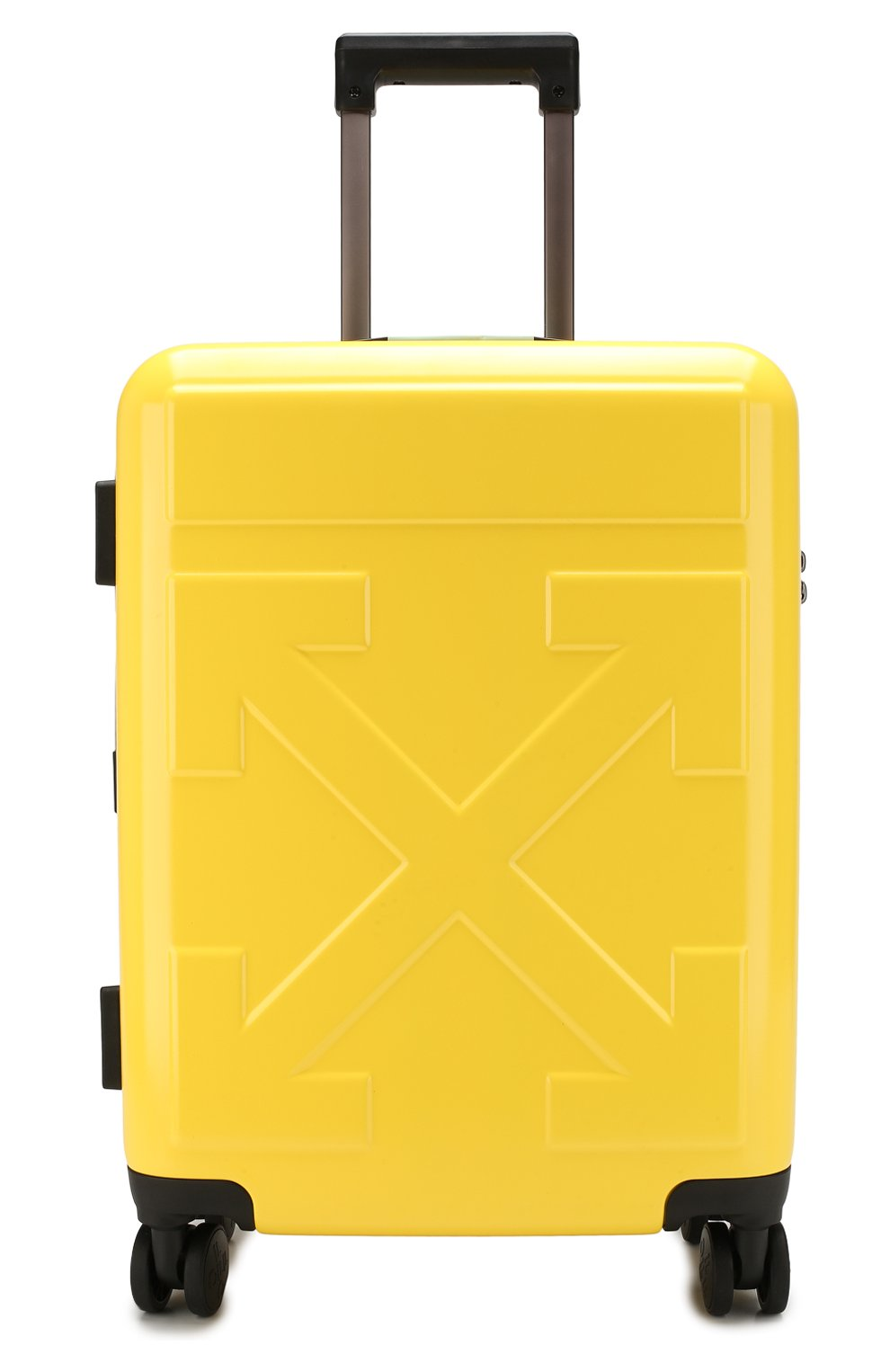 Женский дорожный чемодан OFF-WHITE желтого цвета, арт. 0WNG001E19F611176060 | Фото 4