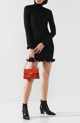 Женская сумка gv3 small  GIVENCHY оранжевого цвета, арт. BB501CB0LT | Фото 2