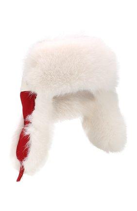 Шапка-ушанка Alaskan с мехом лисицы | Фото №1