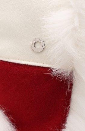 Шапка-ушанка Alaskan с мехом лисицы | Фото №3